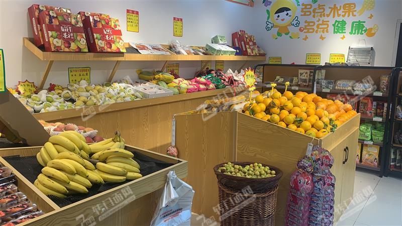 急转高档小区门口65㎡水果零食旺铺