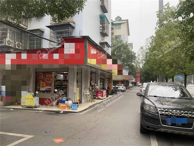 马王堆临街55㎡拐角盈利中品牌连锁超市转让(十年老店)
